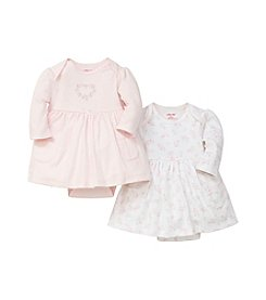 Little Me® Baby Girls' Heart 2 Pack Bodysuit Dresses