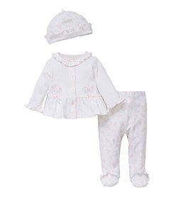 Little Me® Baby Girls' Take Me Home Pants Set