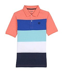 Chaps® Boys' 8-20 Short Sleeve Striped Polo