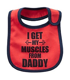 Carter's® Baby Boys Muscles From Daddy Teething Bib