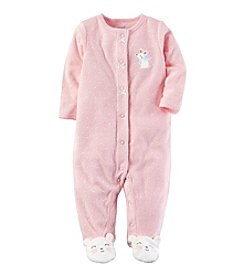 Carter's® Baby Girls' One Piece Mouse Footed Sleeper