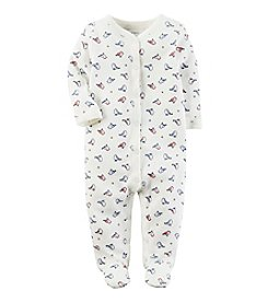 Carter's® Baby Girls' One Piece Bird Print Sleeper
