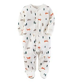 Carter's® Baby Boys One Piece Wilderness Footed Sleeper