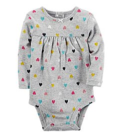 Carter's® Baby Girls' Heart Print Bodysuit