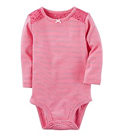 Carter's® Baby Girls' Striped Bodysuit
