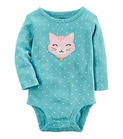 Carter's® Baby Girls' Dot Cat Bodysuit