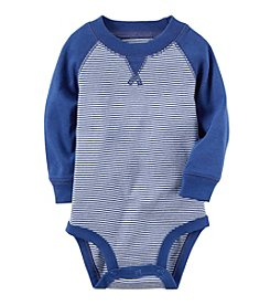 Carter's® Baby Boys Raglan Striped Bodysuit