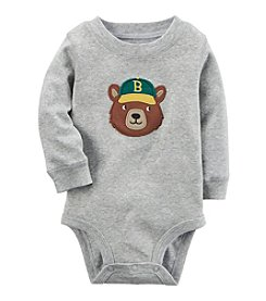 Carter's® Baby Boys Long Sleeve Bear Bodysuit