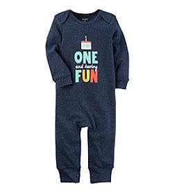 Carter's® Baby Boys One Is Fun Jumpsuit