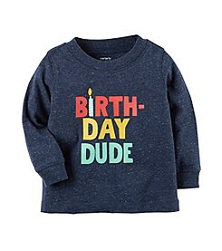 Carter's® Baby Boys Birthday Dude Tee