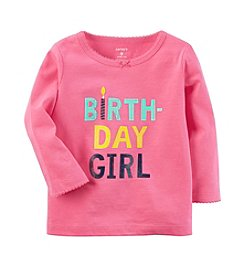 Carter's® Baby Girls Birthday Girl Tee