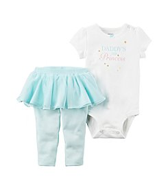 Carter's® Baby Girls 2-Piece Bodysuit & Tutu Pants Set