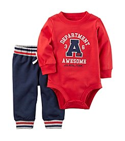 Carter's® Baby Boys 2-Piece Awesome Bodysuit Pants Set
