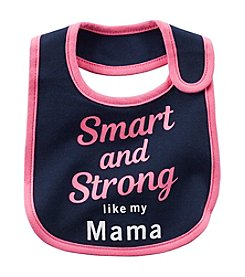 Carter's® Baby Girls' Smart And Strong Teething Bib