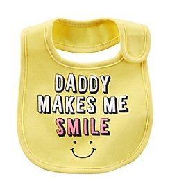 Carter's® Daddy Makes Me Smile Teething Bib