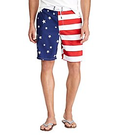 Polo Ralph Lauren® Men's Big & Tall Kailua Flag Swim Trunk