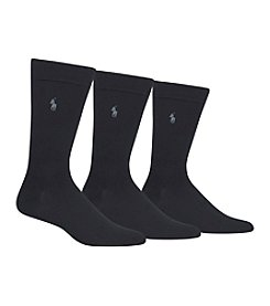 Polo Ralph Lauren® Men's Big & Tall Supersoft Flat Socks