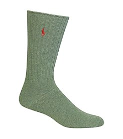Polo Ralph Lauren&Reg; Men's Big & Tall Classic Crew Socks
