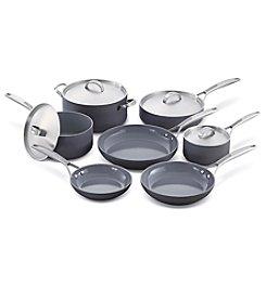 GreenPan® Paris Pro 11-Piece Ceramic Cookware Set