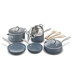 GreenPan® Lima 12-Piece Ceramic Nonstick Cookware Set