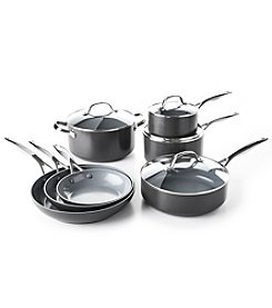 GreenPan® Valencia Pro Ceramic 11-Piece Cookware Set