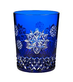 Waterford® Snowflake Wishes Friendship Prestige Edition Double Old Fashioned Cobalt