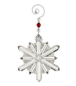 Waterford® Annual Snowstar Ornament