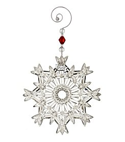 Waterford® Annual Snowcrystal Pierced Ornament