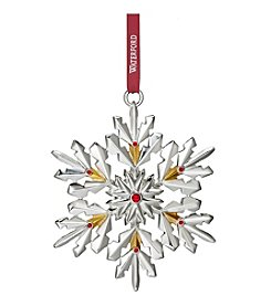 Waterford® Annual Snowflake Ornament 4.3
