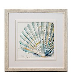 Star Creations Watercolor Shell Print