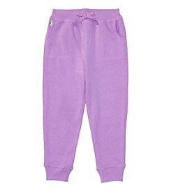Polo Ralph Lauren® Girls' 2T-6X Terry Fleece Pants