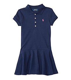 Polo Ralph Lauren® Girls' 2T-16 Short Sleeve Polo Dress