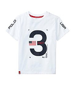 Polo Ralph Lauren® Boys' 2T-20 Short Sleeve Jersey Knit Tee