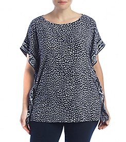 MICHAEL Michael Kors® Plus Size Cheetah Top