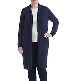 MICHAEL Michael Kors® Plus Size Extra Long Easy Cardigan