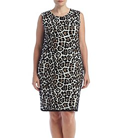 MICHAEL Michael Kors® Plus Size Animal Printed Dress