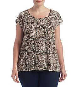 MICHAEL Michael Kors® Plus Size Leopard Top