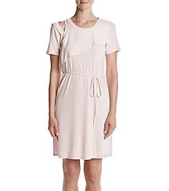 Ivanka Trump® One Cold Shoulder Jersey Dress