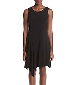 Ivanka Trump® Draped Jersey Knit Dress