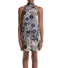 Ivanka Trump® Smock Neck Floral Shift Dress
