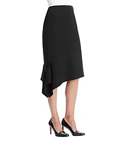 Anne Klein® Asymmetrical Hem Skirt