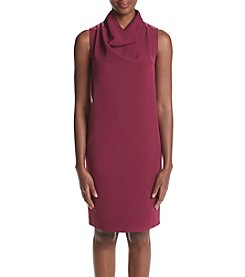Anne Klein® Cowl Sheath Dress