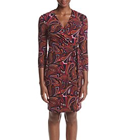 Anne Klein® Printed Wrap Dress
