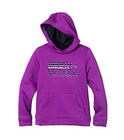 Under Armour® Girls' 7-16 Wordmark Fleece Hoodie