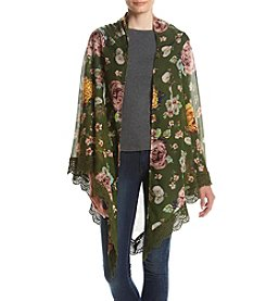 Betsey Johnson® Floral Oversized Day Wrap