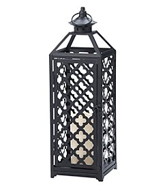 Elements Moroccan LED Candle Lantern