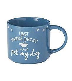 John Bartlett Pet Just anna Drink And Pet My Dog Mug