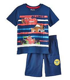 Disney® Boys' 2T-4T Knit Cars Pullover Set