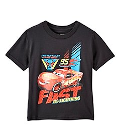 Disney® Boys 4-7 Short Sleeve Fast As Lightning Tee