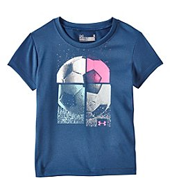 Under Armour® Girls' 2-6x Short Sleeve Soccer Tee
